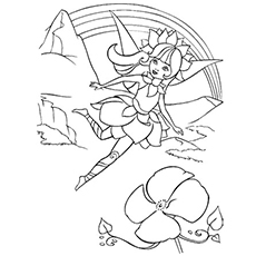coloring pictures of fairy princess - Fairies Coloring Pages