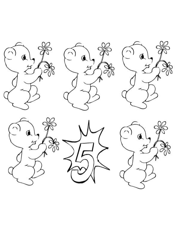 The-Five-Cute-Teddies-color
