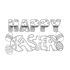 The Happy Easter Poster