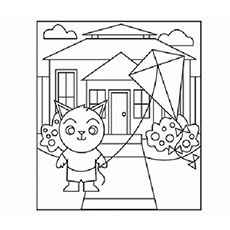 Hunt for the Shapes Coloring Pages to Print