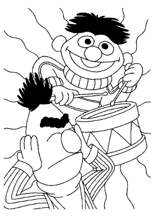 The-Muppet-Playing-the-Drum-color-to-print