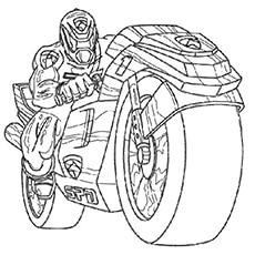 The-Power-Ranger-on-a-Battle-Bike