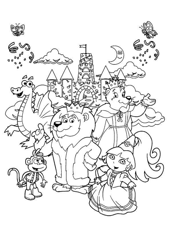 The-Princess-Dora-At-The-Zoo