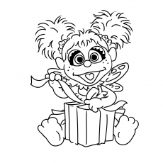 Exceptional The Top 10 Sesame Street Coloring Pages 5