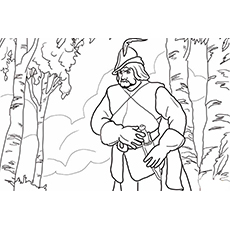 snow white evil queen he is queens huntsman coloring pages