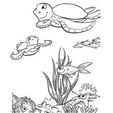 photo about Free Printable Sea Creatures known as Best 15 Cost-free Printable Sea Pets Coloring Webpages On the web