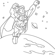 The-superman-a flying