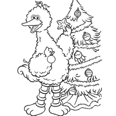 the top 10 sesame street coloring pages 3