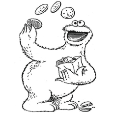 The Top 10 Sesame Street Coloring Pages 6