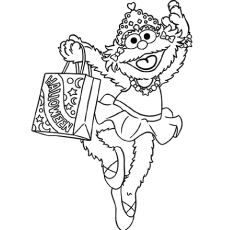 The Top 10 Sesame Street Coloring Pages 9