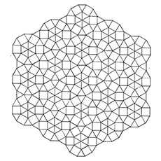 Octagon Shape Pattern to Color