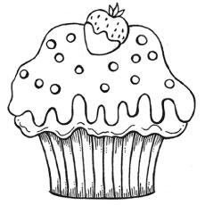 The-yummy-strawberry-cupcake