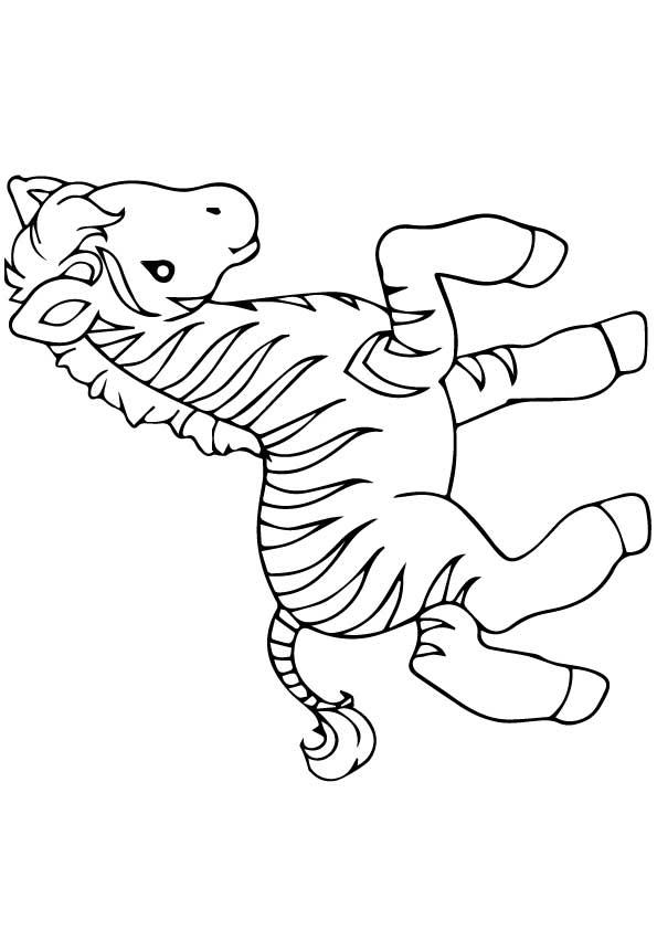 The-zebra-coloring