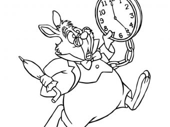 Top 10 Alice In Wonderland Coloring Pages For Your Little Princess