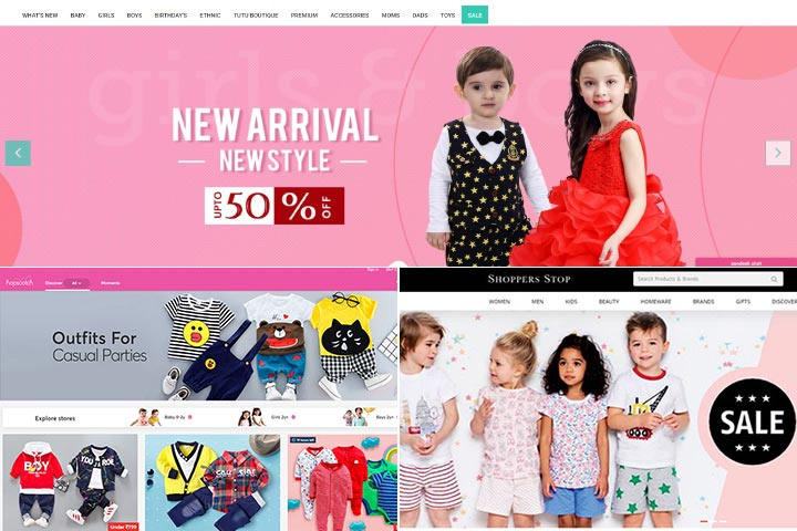 Top 9 Clothing Websites For Kids