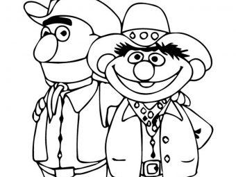 Top 15 Sesame Street Coloring Pages For Your Toddler