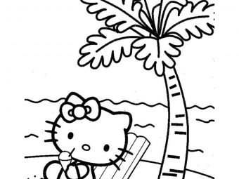 Top 20 Interesting Beach Coloring Pages For Your Little Ones