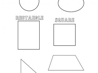 Top 20 Shapes Coloring Pages Your Toddler Will Love Doing