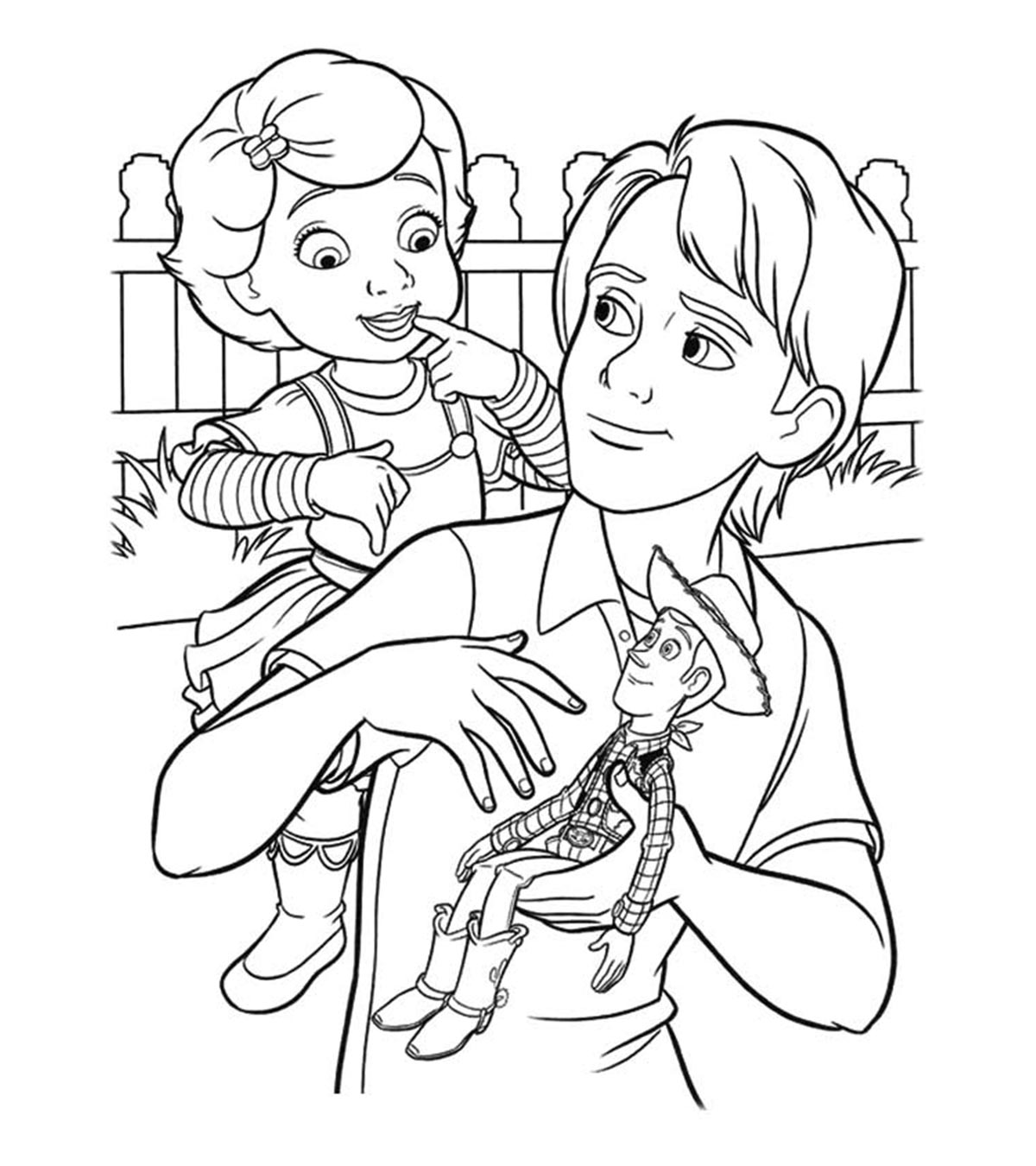 Toy Story Pig Coloring Pages Shouldirefinancemyhome