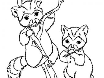 Top 25  Wild Animals Coloring Pages For Little Kids