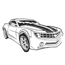 Transformers Favorite Car Coloring Pages