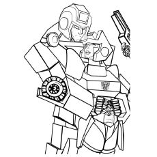Transformers Too Have Emotions Coloring Pages