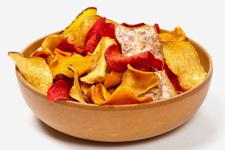 Vegetable rainbow chips