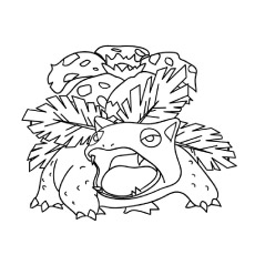 Coloring Pages Of Venusaur Pokemon To Print