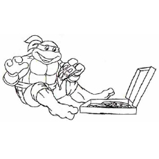 top 25 free printable ninja turtles coloring pages online - Ninja Turtle Pizza Coloring Pages