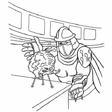 The Kraang Coloring Pages