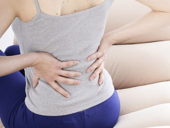 19 Ways To Get Relief From Back Pain After Pregnancy