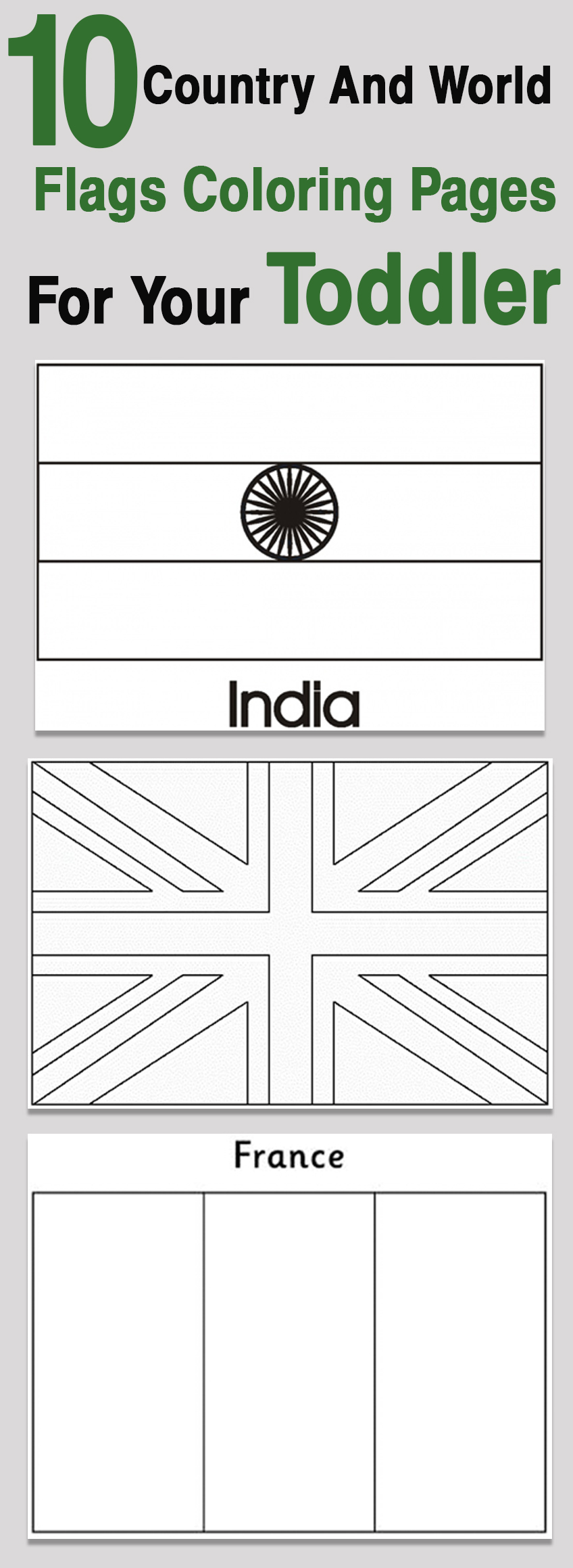 top 10 free printable country and world flags coloring pages online - Flags World Coloring Pages