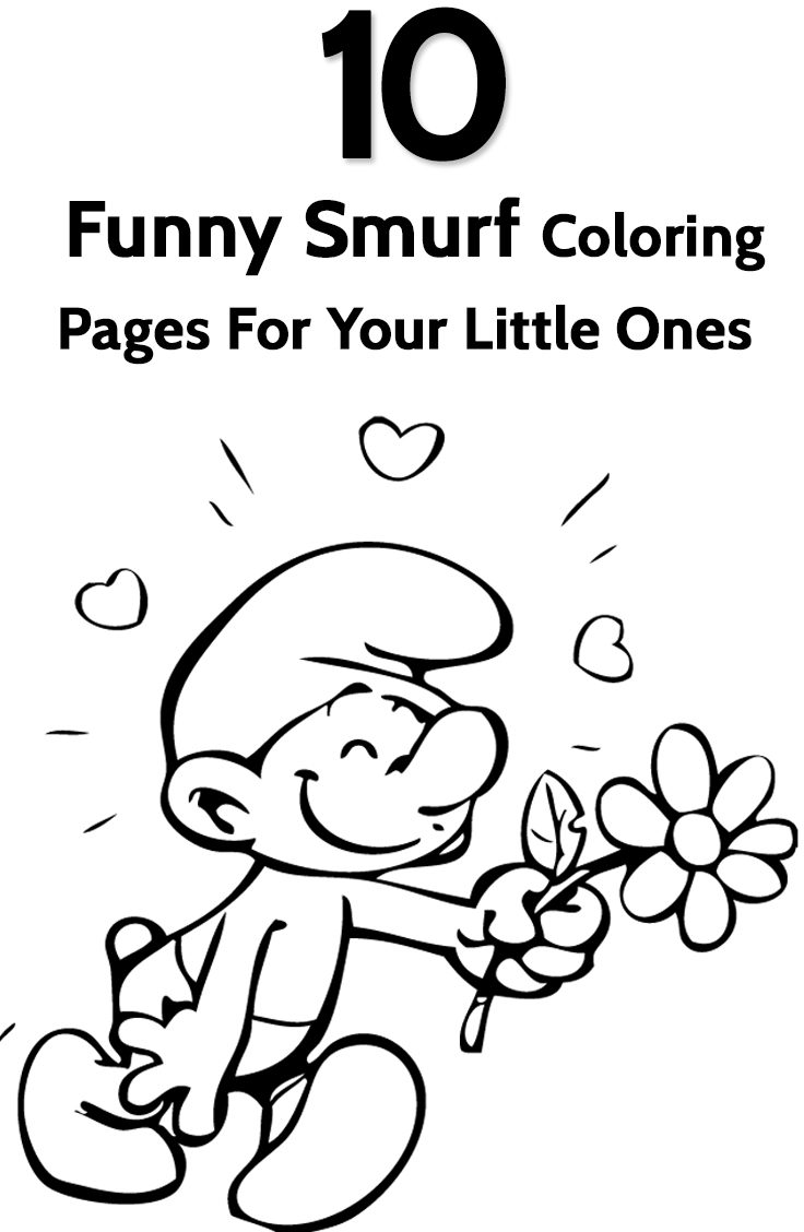 Free printable coloring pages smurfs - Free Printable Coloring Pages Smurfs 20