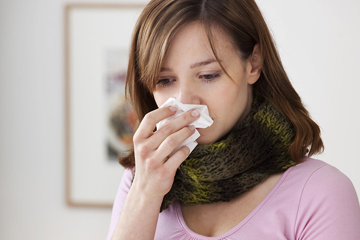 get rid of a stuffy nose during pregnancy