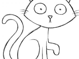 Top 25 Scary Halloween Cat Coloring Pages For Toddlers