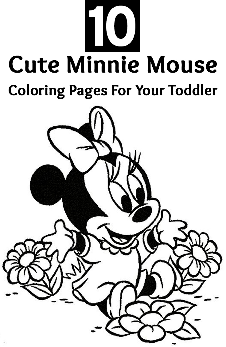 Coloring Pages Minnie Mouse Coloring Pages Free To Print top 25 free printable cute minnie mouse coloring pages online