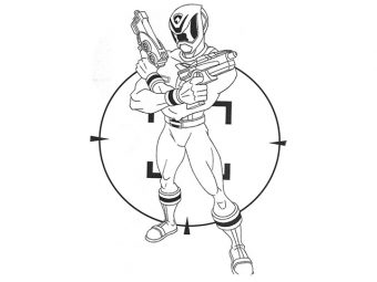 35 Exciting Power Rangers Coloring Pages Your Toddler Will Love