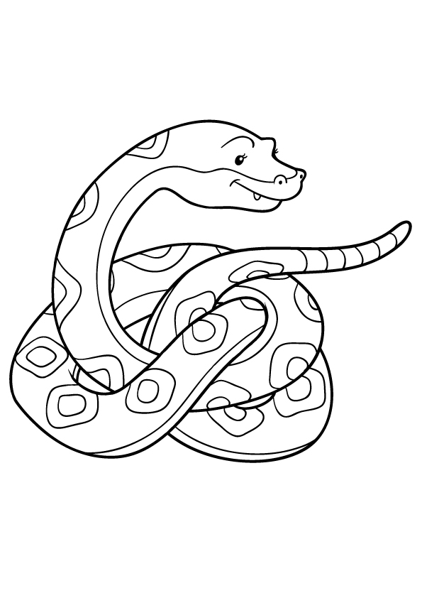 snake-Coloring-book