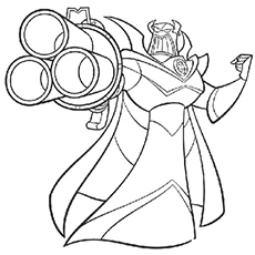 emperor zurg coloring pages