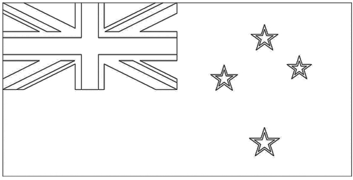 New Zealand Flag Colour in images