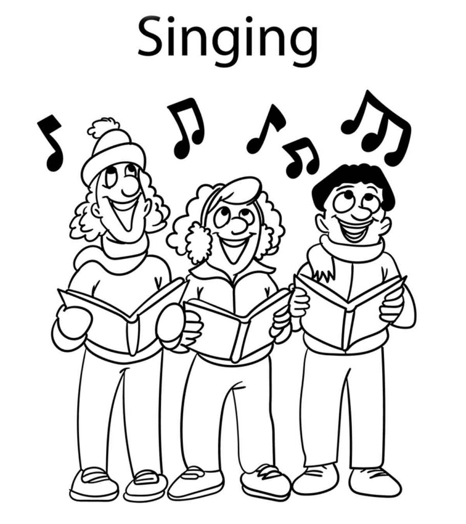 10 ticks calculator coloring book pages | Top 10 Free Printable Music Notes Coloring Pages Online