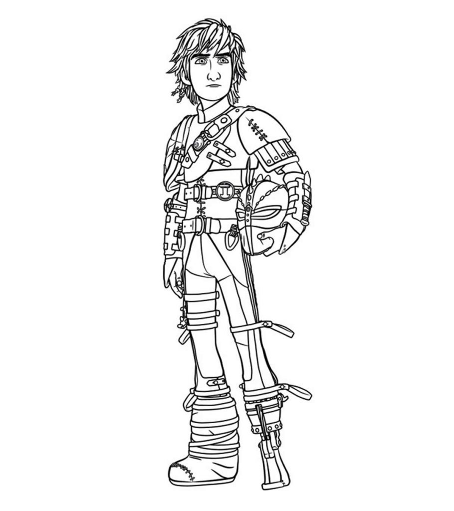 How To Train Your Dragon 3 Coloring Pages - GetColoringPages.com | 1024x910
