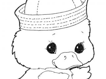 20 Cute Duck Coloring Pages Your Toddler Will Love To Color