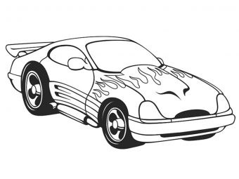 20 Interesting Sports Car Coloring Pages For Your Sports Lover Kids