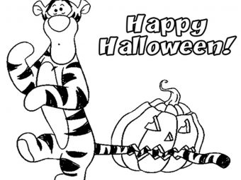 25 Cute Tigger Coloring Pages For Your Little Ones