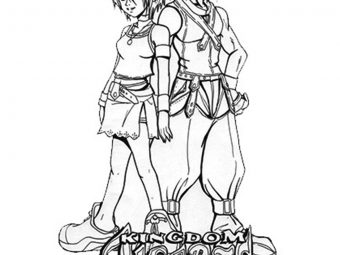 25 Interesting Kingdom Hearts Coloring Pages For Your Little Ones