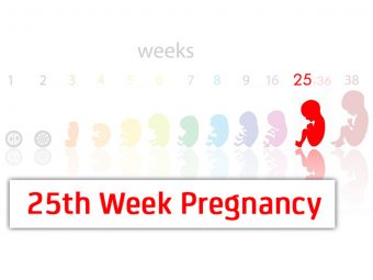 25th Week Pregnancy: Symptoms, Baby Development And Body Changes