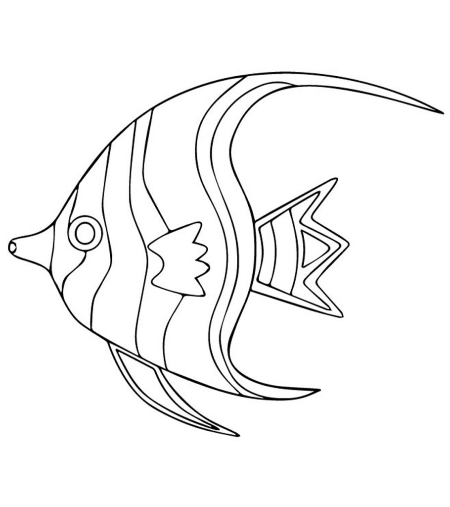 40 Finding Nemo Coloring Pages - Free Printables