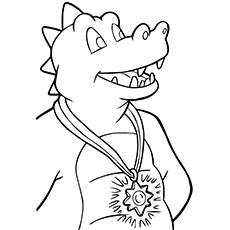 A-Dragon-Tales-a Coloring-locket
