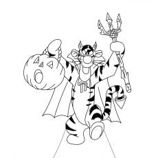 A Halloween Tigger